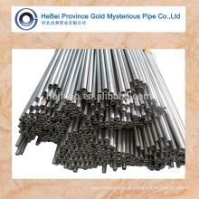 Tubo de tubo qualificado / tubo de aço