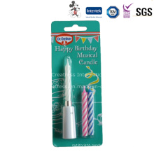 China Happy Birthday Battery Taper Candle