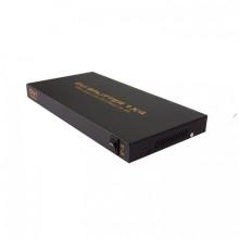 1X4 DVI Splitter (Dual-Link up to 4K)