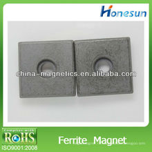 малый куб изотропного феррита / сильные ферритовые магниты