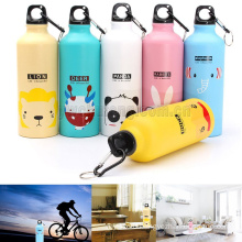 500ml Outdoor Sports Cute Cartoon Lovely Animals Water Bottle Cup Gift For Kids