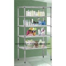 NSF Standard Chrome Metro Wire Shelving Rack (Loading Weight 800lbs/shelf) (CJ6035150A5C)