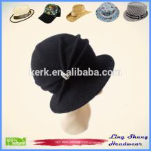 Lady Fashion Hat 100% Wool Bucket Hat