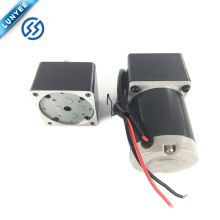6w 12v high torque low rpm electric brushed dc gear motor with gearbox