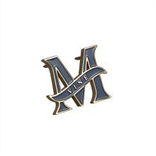 High Quality Custom Decorative Logo Engraved Gold Metal Logo Tag Labels for Handbags/Clothing