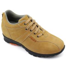 Chaussures Hommes Jaunes Chaussures de Loisirs avec Dentelle