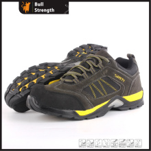 Cow Suede Leather Safety Shoes with EVA/Rubber Sole (SN5437)