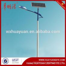 Pôle de lumière de rue de l'énergie solaire