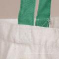 Standard Size Reusable Eco Printed Canvas Cotton Tote Shopping Bag