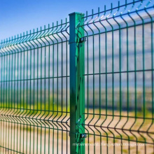 Galvanized or Galvanized Powder Painted Profiled Wire Mesh Panel Fencing