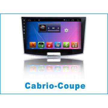 Système Android Car Navigation GPS pour Cabrio-Coupe avec lecteur DVD / voiture Bluetooth