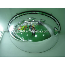 360 degree acrylic safety full dome convex mirror