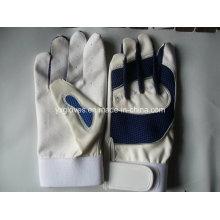 Guante de béisbol-guante de deporte-guantes de seguridad-PU Guante-peso guantes de levantamiento
