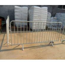 Clôture de barrière de contrôle temporairement galvanisée à chaud