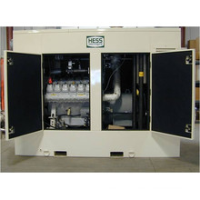 228kW 285kVA MAN Engine Gas Generator set Silent Type