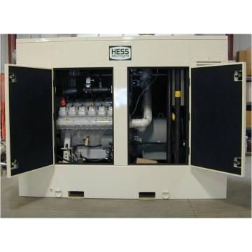 500kW 625kVA MAN Engine Gas Generator set Silent