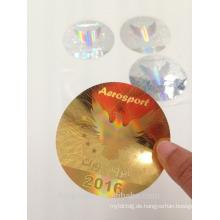 3D holographischer Laser Anti gefälschte Aufkleber