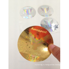 3D голографическая лазер анти-поддельные этикетки наклейка