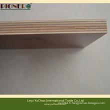 De qualité bois grain de bois mélamine stratifié contreplaqué pour armoire