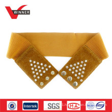 2014 Fashion Rhinestone Elastic Belts for Dress