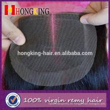 Cierre del cordón del cabello humano de Virgin Color Nuevos productos de China para la venta