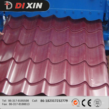 Dx 1100 Glazed Tile Roofing Sheet Roll Forming Machine