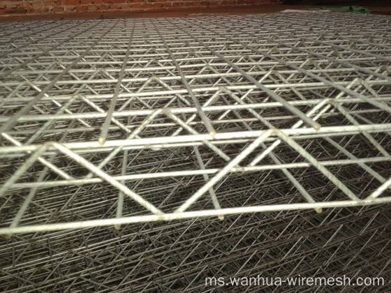 70 dan 70mm 3D Welded Wire Mesh Panel Factory
