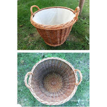 (BC-ST1096) High Quality Handmade Willow Laundry Basket