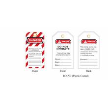 BOSHI BD-P03 Industriesicherheits-Verriegelungsschild mit Warnzeichen, OEM akzeptabel