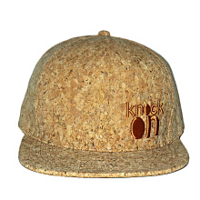 custom wood flat brim 6 panel snapback cap with 3d embroidery snap back hat