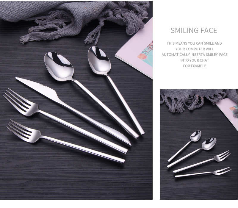 Reusable Sterling Silverware Set