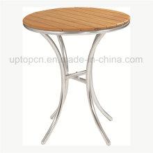 Открытый круглый стол с прочной фанеры столешница (СП-AT324)