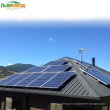 Bluesun híbrido 5kw sistema de panel solar doméstico 220 V monofásico para Europa