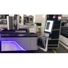 1kw stainless steel fiber laser cutting machine without cover /fibra de acero inoxidable from VMADE