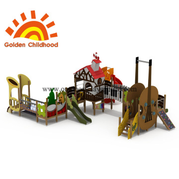 Combination Max Outdoor Playground Equipment en venta