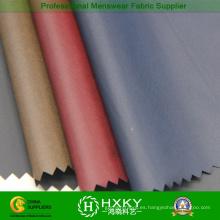 40d de fibra negra con revestimiento de espuma de tela de nylon para la capa de Down