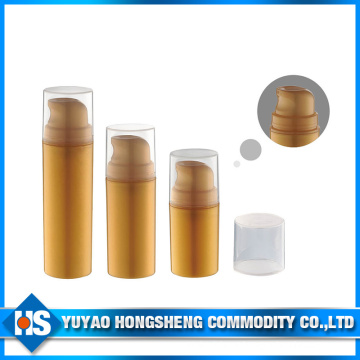 2015 New Design Airless Pump Bottle Empty Plastic Bottle Cosmetic Container Acrylic