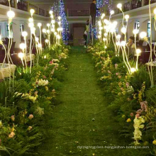 40mm indoor landscape artificial grass decoration for wedding