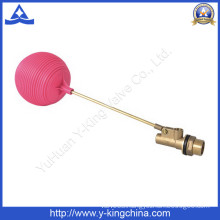 Water Tanks Brass Floating Ball Valve with Plastic Ball (YD-3016)