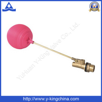 Водяные цистерны латунный плавающий шаровой клапан с пластиковым шариком (YD-3016)