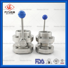 Butterfly Valve with Hand Lever for Beer Equipment
