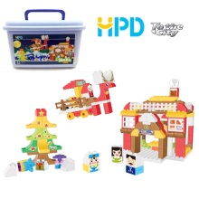 Funny Bricks Building Toy Set Regalo de Navidad