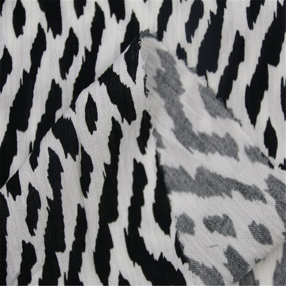 Striped Printed Fabric
