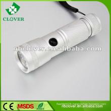Cheap 12000-15000MCD super white mini led aluminum flashlight
