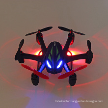 2.4G 4CH RC Quadcopter with HD Camera, Lights & Gyroscope 6-Axis RC Drone UFO