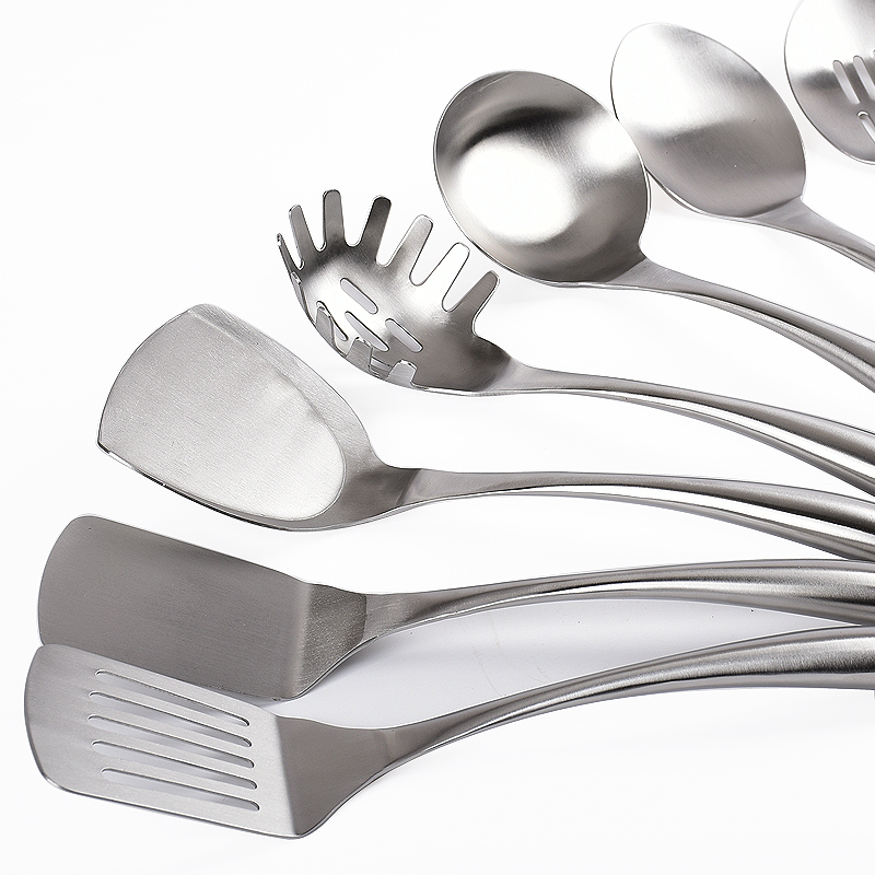 Cooking Utensil Set Stainless Steel