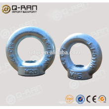 Directamente de fábrica soltar tuerca del ojo forjado galvanizado DIN582