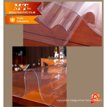 Transparent clear flexible soft PVC Films Sheet roll for table cloth