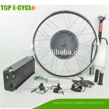 Alta velocidad y larga distancia 48V batería 1000W motor e kit de conversión de bicicleta