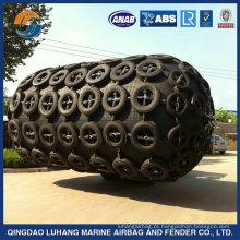 Pára-choque de borracha pneumático marinho de 3M * 5M